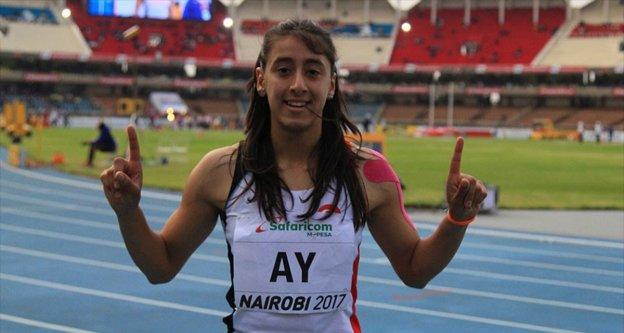 Milli atlet Mizgin Ay rekor kırarak finale kaldı