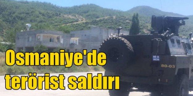 Osmaniye'de havanlı saldırı; Amanos'ta operasyon var
