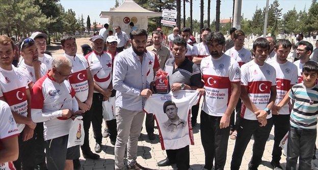 'Şehit Ömer Halisdemir Bisiklet Turnuvası' sona erdi