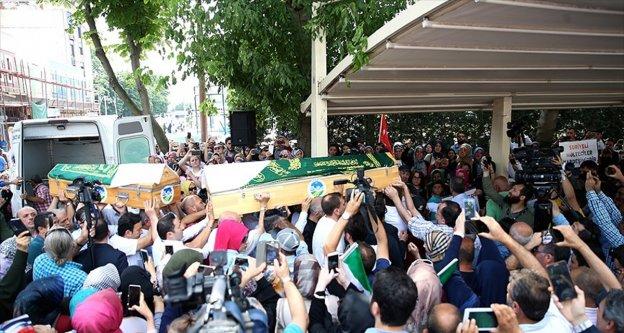 Suriyeli anne ve bebeği için Sakarya'da cenaze töreni düzenlendi