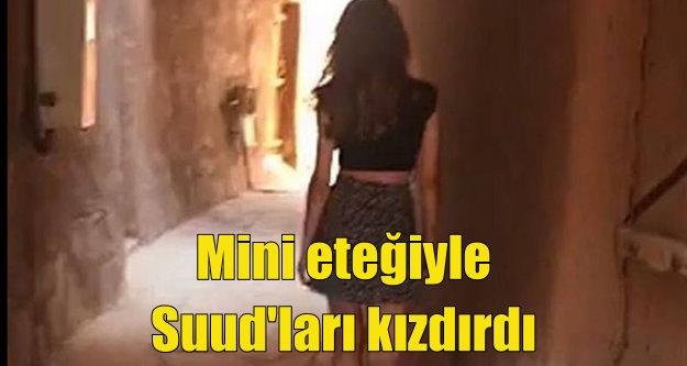 Suud polisi mini etekli genç kadını arıyor