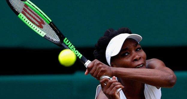 Venus Williams Wimbledon'da finalde