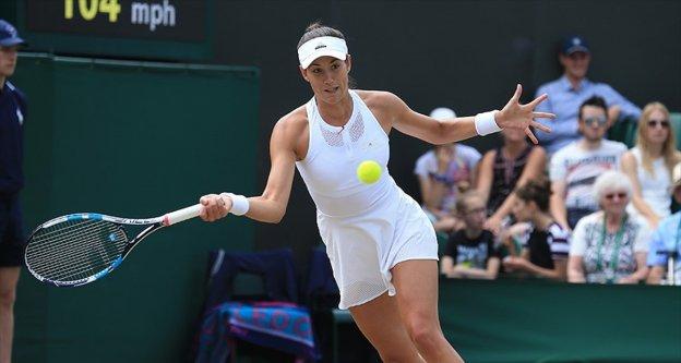 Wimbledon'da ilk finalist Muguruza