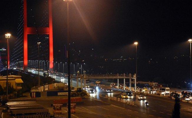 15 Temmuz Şehitler Köprüsü'ndeki çalışmalar sona erdi