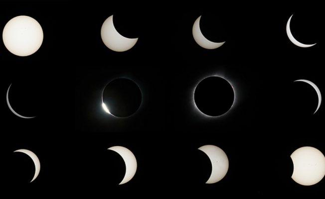 ABD'de tam Güneş tutulması; NASA izlenme rekoru kırdı