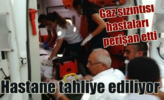 Adana'da hastanede gaz sızıntısı: Hastalar tahliye ediliyor