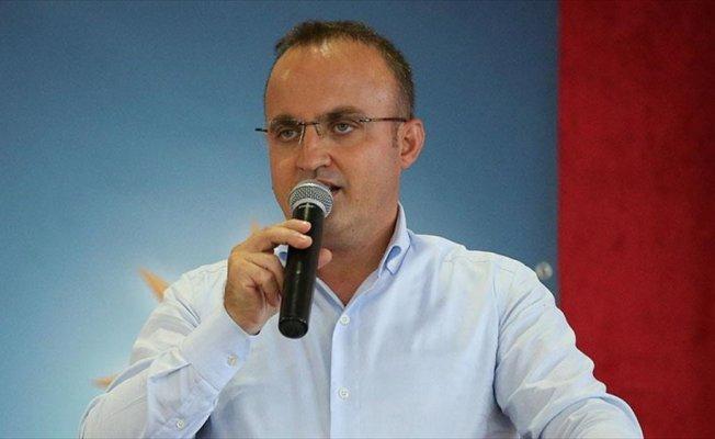AK Parti Grup Başkanvekili Turan: CHP toplantısında dün bir rezalete şahitlik ettik