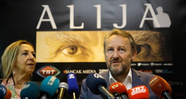 'Alija' dizisi Saraybosna'da tanıtıldı
