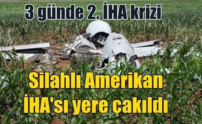 Amerikan silahlı İHA'sı bu kez Viranşehir'e düştü