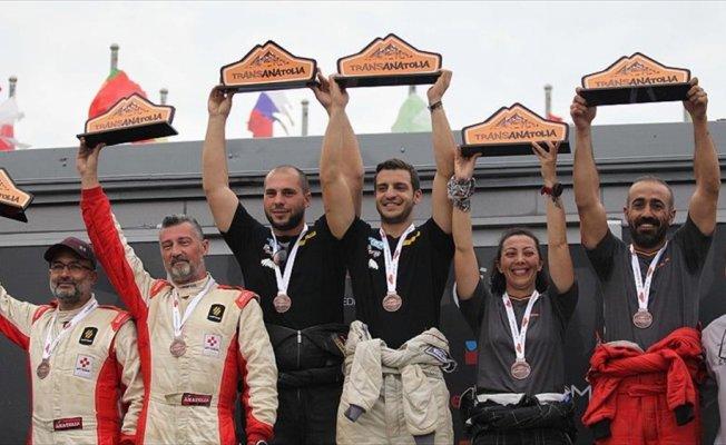 Avrupa'nın en uzun rallisi Transanatolia tamamlandı