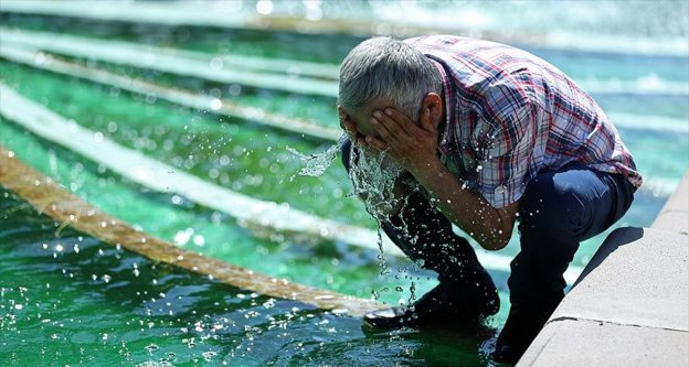 Batı Akdeniz için yüksek sıcaklık, nem uyarısı