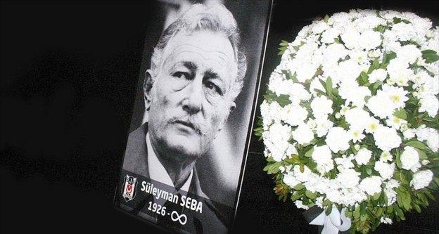 Beşiktaş Kulübü Seba'yı andı
