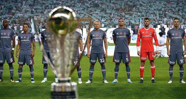 Beşiktaş Süper Kupa'da başarılı olamıyor
