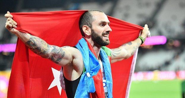 Dünya şampiyonu milli atlet Guliyev: Yarışın sonunda madalya kazandığıma emindim