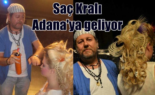 Dünya Saç Şampiyonu Hüseyin Kayış Adana'ya geliyor