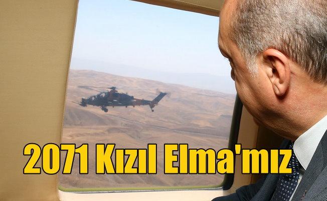 Erdoğan Malazgirt Meydanı'nda konuşuyor; 2071 Kızıl Elma