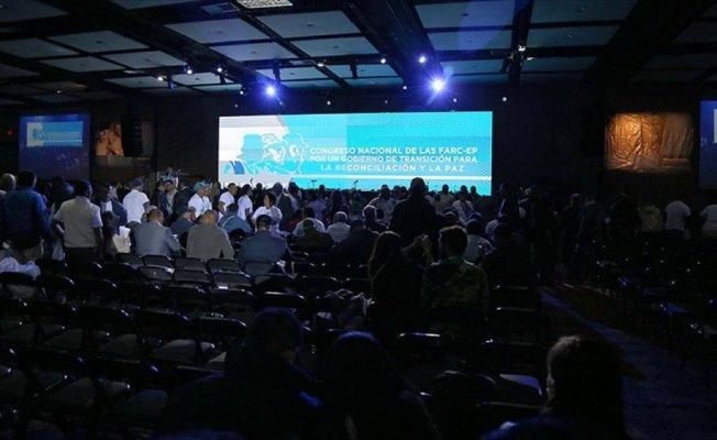 FARC'ın kuracağı siyasi partinin kongresi başladı