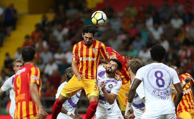 Kayseri'de dört gollü maçta beraberlik