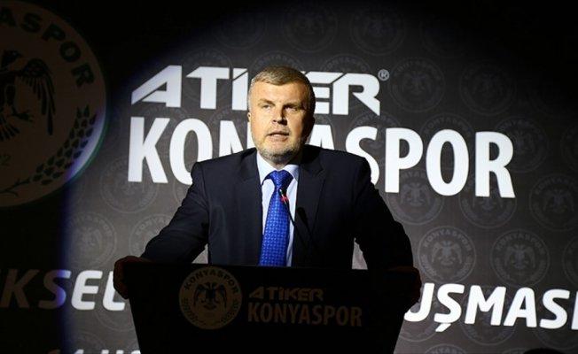 Konyaspor Başkanı Şan görevinden istifa etti