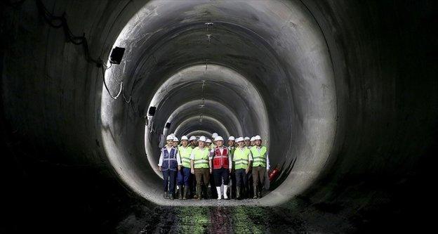 Meci̇di̇yeköy-Mahmutbey metro hattında ışık göründü
