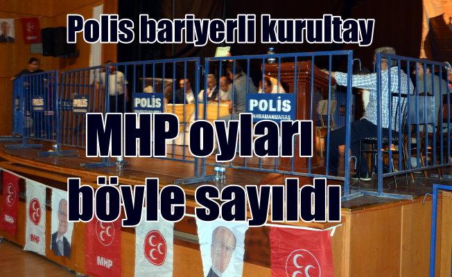 MHP'de 'Bariyerli' kongre: 1 oy farkla kazandı