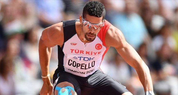 Milli sporcu Escobar 400 metre engellide gümüş madalya kazandı