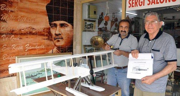Osmanlı Tayyare Bölüğü uçağı 'geri gelecek'