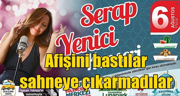 Seydişehir'de konser skandalı: Serap Yenici'yi konser için davet ettiler....
