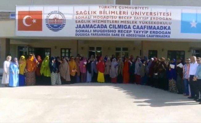 Somalili öğrencilerden Cumhurbaşkanı Erdoğan'a bayram mesajı