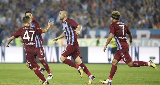 Trabzonspor Burak Yılmaz'la kazandı
