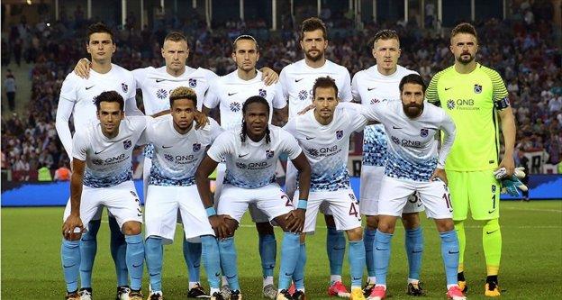 Trabzonspor'da forma numaraları belli oldu