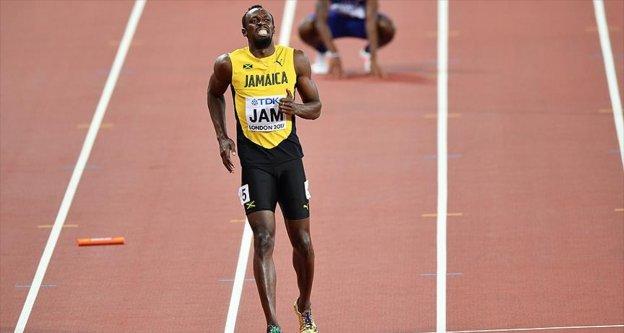 Usain Bolt'un sakatlanması sonucu takımı yarışı tamamlayamadı