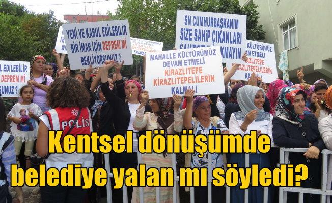 Üsküdar'da bakana protesto: Mahalleli ayaklandı