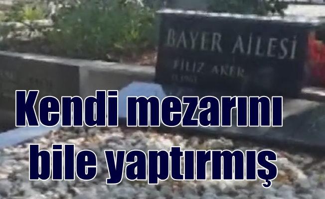 Vatan Şaşmaz cinayetinde son durum; Mezar yerini iki ay önce almış