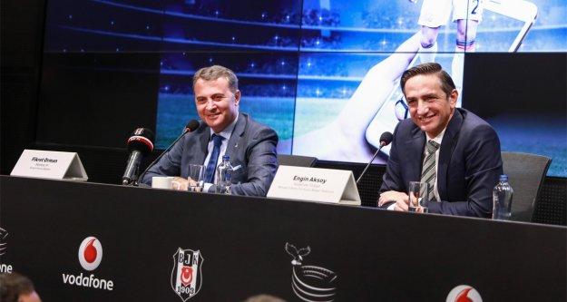 Vodafone Karakartal'dan,Beşiktaş'a büyük destek