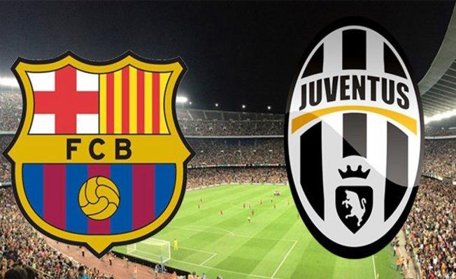 Barcelona-Juventus maçı saat kaçta,hangi kanalda