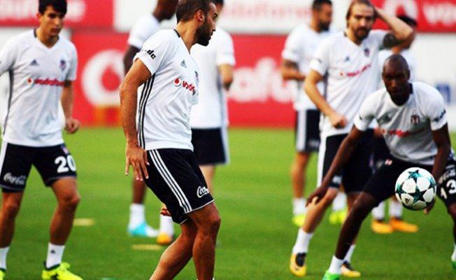 Beşiktaş,Porta maçı için hazırlıklarını sürdürdü
