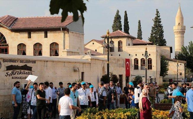Büyükelçiler Gaziantep Buluşması'nda 171 kişiden oluşan heyet şehri gezdi