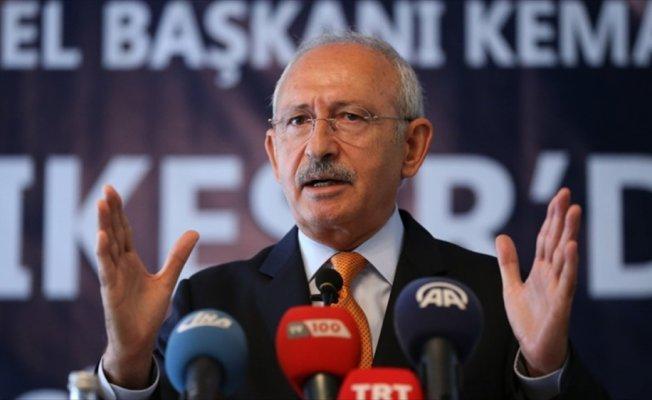 CHP Genel Başkanı Kılıçdaroğlu: 4 yılda terörü bitiremediğim takdirde siyaseti bırakacağım