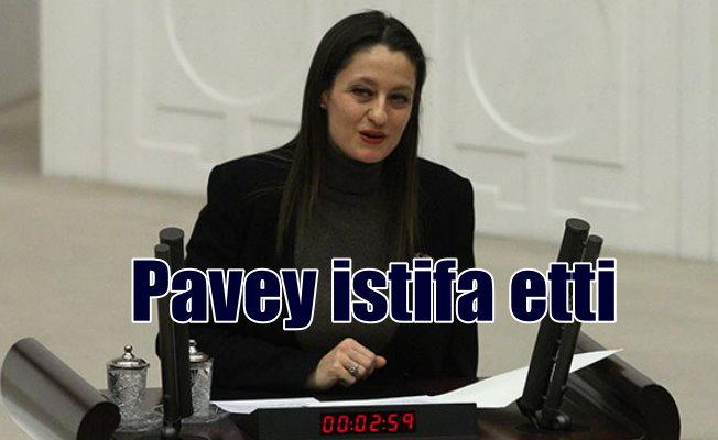 CHP'li Şafak Pavey, milletvekilliğinden istifa etti