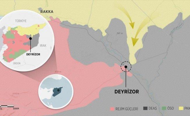 DEAŞ, Deyrizor'u PKK/PYD'ye bırakıyor