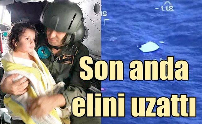 Denizde 5 saat can çekişti; Türkmen kızı Lia son anda hayata tutundu