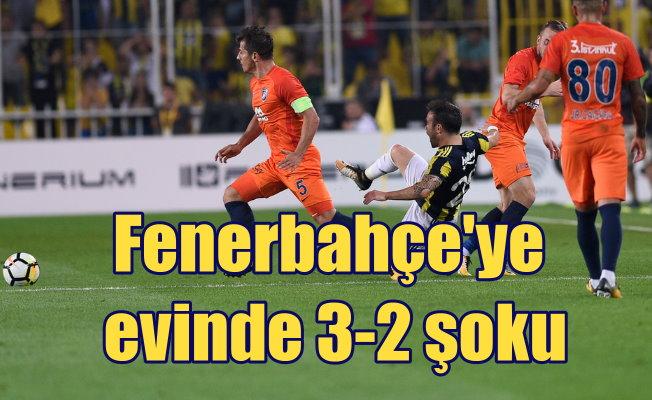Fenerbahçe kendi sahasında yenildi; FB 2 Başakşehir 3