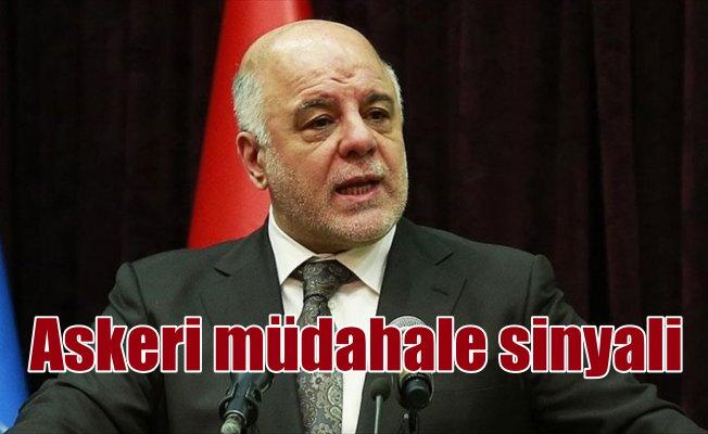 Irak Başbakanı İbadi'den 'askeri müdahale' açıklaması