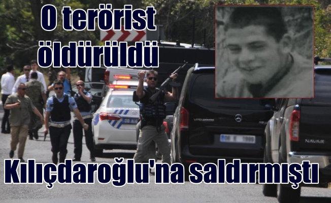 Kılıçdaroğlu'nun konvoyuna saldıran PKK'lı öldürüldü