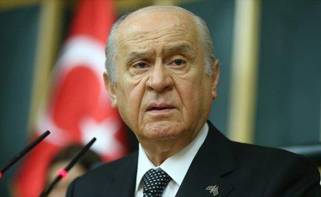 MHP Genel Başkanı Bahçeli: Barzani'ye bedel ödettirecek güçteyiz