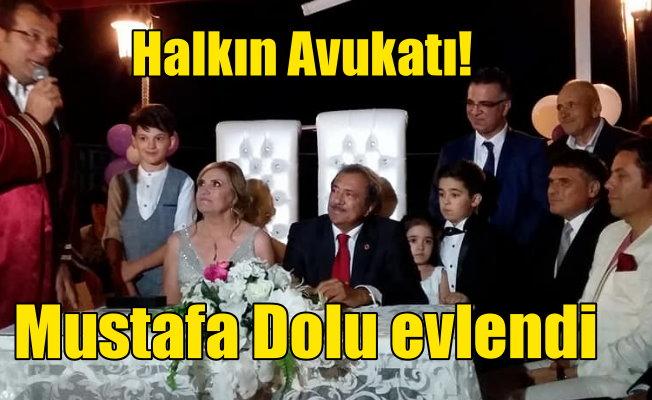 Mustafa Dolu evlendi: Gazeteci Dolu dünya evine girdi