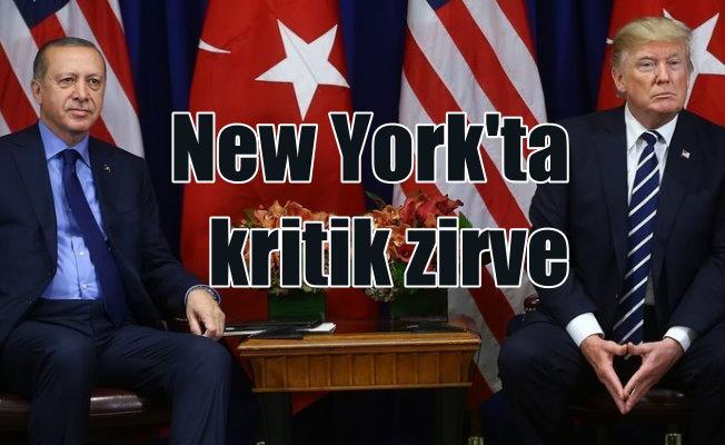 New York'ta kritik zirve: Erdoğan Trump buluşması