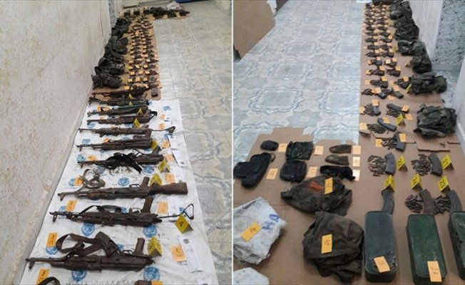 Nusaybin'de silah ve mühimmat bulundu