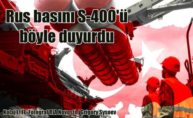S-400 füzeleri için Rus basınından Türk Bayraklı fotoğraf